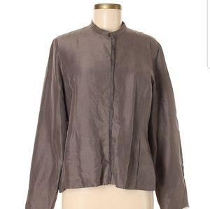 Eileen Fisher Silk blazer L
